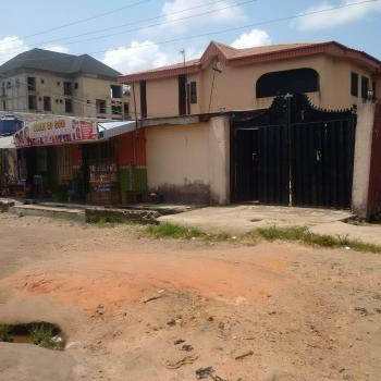 4 Units of 3 Bedrooms Flats with  2 Lock-up Shops Fronting The Property, No 10, Salem Close, Off Lagos -badagry Express-way, Agbara-igbesa, Lagos, Block of Flats for Sale