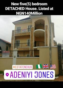 a Newly Built Modern 5 Detached House with Bqin a Very Secured and Serene Estate at  Adeniyi Jones, Adeniyi Jones, Ikeja, Lagos, Detached Duplex for Sale
