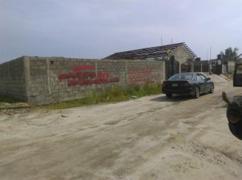 3 Plots of Dry  Land Fenced Together and Gated (3 Plots Away From The Road), Beside Mainone Cable, Abraham Adesanya Estate, Ajah, Lagos, Mixed-use Land for Sale