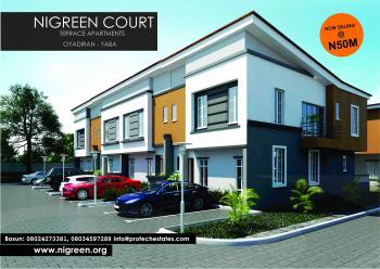 Fully Finished Luxury 4 Bedrooms Terrace Duplex, Oyadiran Drive, Oyadiran Estate, Sabo, Yaba, Lagos, Terraced Duplex for Sale