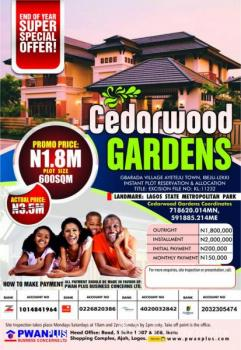 Amazing Buy and Build Estate - Cedarwood Gardens, Ayeteju Town, Eluju, Ibeju Lekki, Lagos, Residential Land for Sale