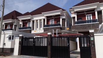 Massive Brand New and Luxuriously Finished 4 Bedroom Semi-detached House with Boys Quarters, Chevron Drive, Chevy View Estate, Lekki, Lagos, Semi-detached Duplex for Sale