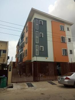 Luxury and New Building of 3 Bedroom Flats with, Balcony, Bq Fitted Kitchen at Yaba, Saint Agnes, Yaba, Lagos, Flat for Sale