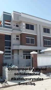 Luxury 5 Bedroom  Contemporary Styled Semi Detached Duplex with Bq, Ikate Elegushi, Lekki, Lagos, Semi-detached Duplex for Sale