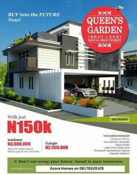 Queens Gardens Estate. Buy Now Pay Small  Small for Up to 20 Months, Next to Pan African University, Eleranigbe, Ibeju Lekki, Lagos, Mixed-use Land for Sale