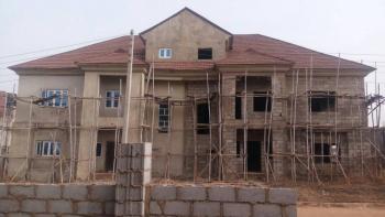 4 Bedroom Semi Detached Duplex and Bq (carcass), Near Shoprite, Apo, Abuja, Semi-detached Duplex for Sale