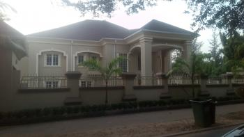 Newly Built 7 Bedroom with 3 Bedroom Guest Chalet, 2 Room Boys Quarter, Large Compound, Ministers Hill, Maitama District, Abuja, Detached Duplex for Rent