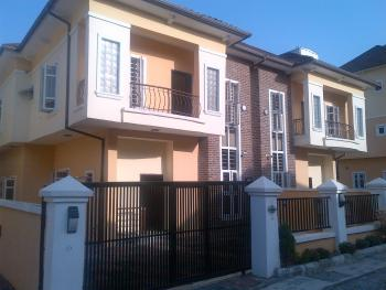 a Well Planned & Thoughtfully Finished 4 Bedroom Semi Detached Duplexes with a Standard Sized B.q, Agungi / Idado Axis, Between Chevron and Jakande, Lekki, Lagos, Semi-detached Duplex for Sale