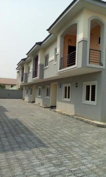 3 Bedroom with Bq, Atlantic View Estate, Igbo Efon, Lekki, Lagos, Terraced Duplex for Sale