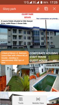 Luxury 3 Bedroom Flat with Bq All En Suite, Lekki Phase 1, Lekki Phase 1, Lekki, Lagos, Flat for Rent