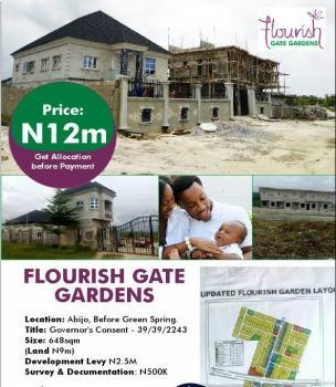 Plots of Dry Land, Before Greenspring School, Abijo, Lekki, Lagos, Residential Land for Sale