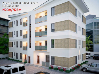 Brand New Spacious 2 Bedroom Flat, Amen Estate 2, Eleko, Ibeju Lekki, Lagos, Flat for Sale
