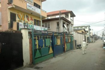 2 Storey Building of 3 Bedroom Flat, Salawu Street, Off Itire Road, Ojuelegba, Surulere, Lagos, Block of Flats for Sale