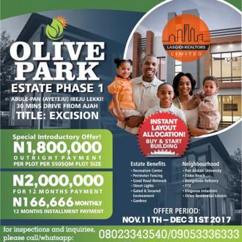 Mixed-used Land, Abule-pan, Ayeteju, Eluju, Ibeju Lekki, Lagos, Residential Land for Sale