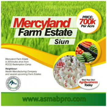 Awesome Farm Land, Shiun, 10mins Drive From Nestle Manufacturing Company, Sagamu, Ogun, Commercial Land for Sale