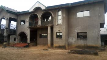 6 Bedroom Duplex with 3 Sitting-room and a Laundry Room on a 2 Plots of Land with Deed., New Layout Estate, Elimbu, Port Harcourt, Rivers, Detached Duplex for Sale