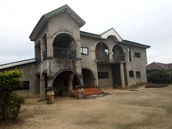 6 Bedroom Duplex with 3 Sitting-room and a Laundry Room on a 2 Plots of Land with Deed., Prime Estate , Off Rumuokwurusi Tank,  Rumuewhara Port Harcourt, Rumuokwurusi, Port Harcourt, Rivers, Detached Duplex for Sale