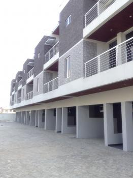 4 Bedroom Terrace with Large Rooms, Three Sitting Rooms and a Monstrous Kitchen Finished to Good Standards, House on The Rock Street, Ikate Elegushi, Lekki, Lagos, Terraced Duplex for Rent