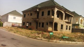 Uncompleted & Roofed 4 Bedrooms Detached Duplex on Corner Piece (carcass), Opposite Games Village, Beside Dss Estate, By House on The Rock Church, Galadimawa, Abuja, House for Sale