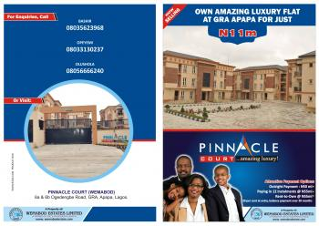 Luxury 3 Bedroom Flats with a Maids/bq, 6a & B, Ogedengbe Gra, Gra, Apapa, Lagos, Block of Flats for Sale