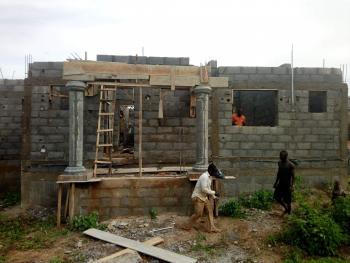 3 Bedroom Carcass, D Close, Off Chief Road, Dutse Bmuko, Dutse, Abuja, Detached Bungalow for Sale