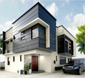 a Luxury and Tastefully Newly Built 4 Bedrooms Detached House + 1 Room Bq, C of O Etc, Unity Estate Extention, Ojodu Grammar School Area, Unity Estate, Ojodu, Lagos, Detached Duplex for Sale