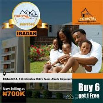 Plots, Christal Villa, Elebu, Off Akala Express Road,  Orita, Challenge, Ibadan, Oyo, Residential Land for Rent