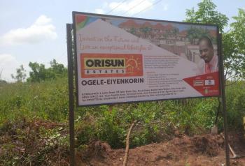 Plots of Land, Orisun Estate, Eiyekanrin, Ilorin South, Kwara, Residential Land for Sale