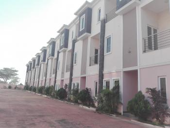 Luxury 9 Units of 4 Bedroom Terrace Houses, By Jimeta Fueling Station, Apo, Abuja, Terraced Duplex for Sale
