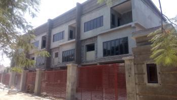 Carcass Newly Built 4 Bedroom Terrace Duplex with a Boys Quarter, Maitama District, Abuja, Terraced Duplex for Sale