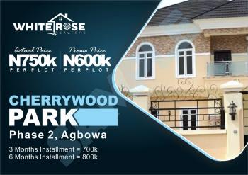 Xmass Promo!!! Grab This Opportunity and You Will Be Glad You Did, Agbowa, Ikorodu, Lagos, Residential Land for Sale
