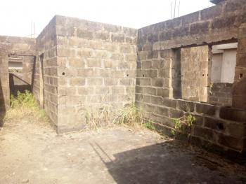 2 Nos of 3 Bedroom Flat Uncompleted Up to Decking Level in a Very Secure Estate on a Plot of Land with Good Road Network., Agbele Ekoro Road, Abule Egba, Oke-odo, Lagos, Block of Flats for Sale