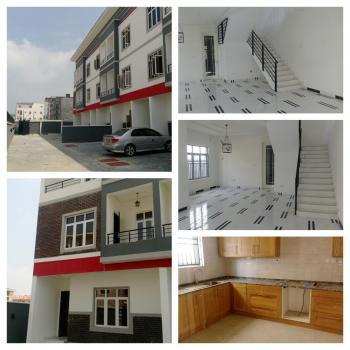 4 Bedroom Terrace House on 3 Floors + Rooms En Suite, 2 Sitting Rooms + One Bedroom Bq, Onigefon Street, Oniru, Victoria Island (vi), Lagos, Terraced Duplex for Sale