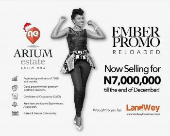 Introduction Ember Month Promo!!!, The Arium Estate Is Situated at Abijo Gra, Beside Nicon Town Ii, Off Lekki-epe Expressway, Eden Garden Estate, Ajah, Lagos, Flat for Sale