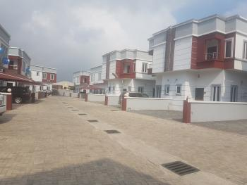 Luxury 4 Bedroom Semi Detached Duplex with Bq in a Serviced Estate, Before Vgc Estate Facing Express, Lekki, Lagos, Semi-detached Duplex for Sale