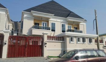 Brand New 4-bedroom Semi-detached House with Bq, Chevron, Lekki, Lagos, Semi-detached Duplex for Sale