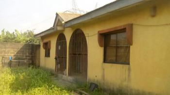 3 Bedroom Bungalow Setback on a Full Plot, Off Amule Bus Stop, Before Ayobo, Alimosho, Lagos, House for Sale
