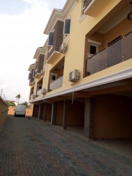Newly Built 6 Units of 4 Bedroom Serviced Terrace House with a Room Servant Quarters, Oral Estate, Ikota Villa Estate, Lekki, Lagos, Terraced Duplex for Sale