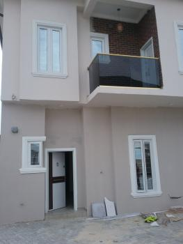 Nicely Newly Built Four Bedrooms Semi Detached Duplex Without Bq Serviced Mini Estate, Located Off Chevron New Toll Gate Before Vgc, Lekki  Lagos, Ikota Villa Estate, Lekki, Lagos, Semi-detached Duplex for Sale