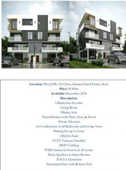 Off Plan 5 Bedroom Semi Detached Duplex, Plot J52b, 314 Close, Banana Island, Ikoyi, Lagos, Semi-detached Duplex for Sale