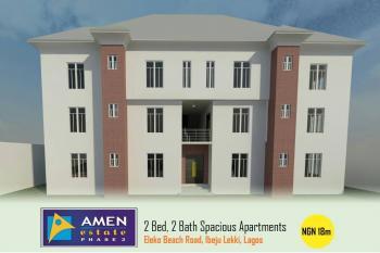 2 Bedroom, 2 Bathrooms Spacious Apartment (off Plan), Amen Estate Phase 2, Eleko, Ibeju Lekki, Lagos, Flat for Sale