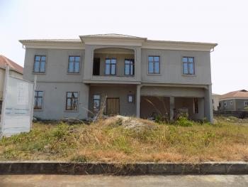 Uncompleted 5 Bedroom Detached Duplex with 2 Rooms Boys Quarters on 1000sqm, Nicon Town, Lekki, Lagos, Detached Duplex for Sale
