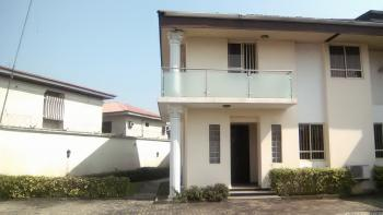 Fitted 4 Bedroom Semi Detached Duplex with 2 Room Boys Quarters, 7th Street, Osborne Phase 1, Osborne, Ikoyi, Lagos, Terraced Duplex for Rent