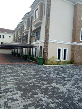Brand New Fully Serviced 4 Bedroom Terrace Duplex (on 2 Floors) with Fitted Kitchen, Bq, Abiola Court, Ikate Elegushi, Lekki, Lagos, Terraced Duplex for Rent