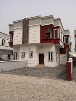Newly Built 4 Bedroom Serviced Semidetached Duplex with a Room Bq, Fitted Kitchen in a Gated Environment, Ikota Villa Estate, Lekki, Lagos, Semi-detached Duplex for Sale