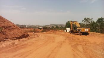 Vacant Residential Land with Hidden Value( Birds Eye View), New Guzape Extension, Guzape District, Abuja, Residential Land for Sale