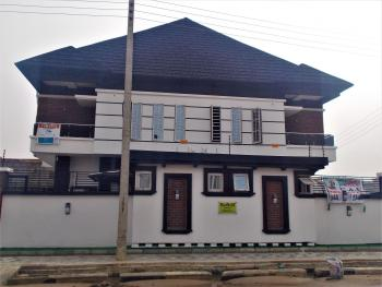Fantastical Finished 4 Bedroom Semi Detached Duplex with a Staff Quarters, Alternative Route, Chevron Drive, Lekki Expressway, Lekki, Lagos, Semi-detached Duplex for Sale