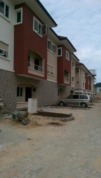 Lovely, Newly Serviced Three Bedroom Terrace, Osapa, Lekki, Lagos, Terraced Duplex for Rent