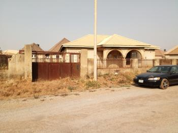 Fenced 3 Bedroom Bungalow Carcass, Lokogoma District, Abuja, Detached Bungalow for Sale