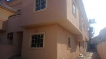a Decent 4 Bedroom Duplex with a Room Bq, Same Global Estate, Less Than 5 Minutes Drive From Sunnyvale, Dakwo, Abuja, Semi-detached Duplex for Rent